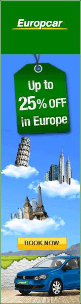 Europcar angielski 160x600 rezerwacji online