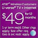 AT&T U-Verse 125x125