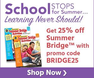 300x250 Summer Bridge Sale Plus Coupon - Ends June 10th