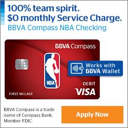 BBVA Compass Bank NBA Checking