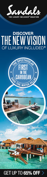 All NEW Sandals Royal Caribbean Over-The-Water Villas now open!