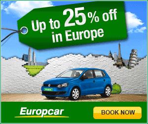 Europcar english 300x250 book online