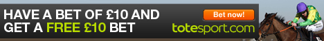 Bet now with totesport - £100 in free bets!