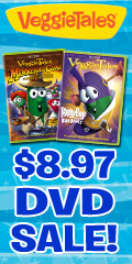 VeggieTales $8.97 DVD Sale!