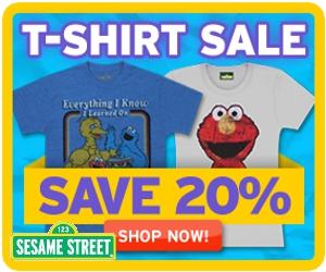Free Gifts thru Xmas in Sesame Street Store!