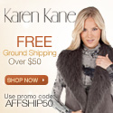 Free Ground Shipping at KarenKane.com
