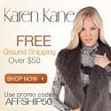 Free Ground Shipping at KarenKane.com