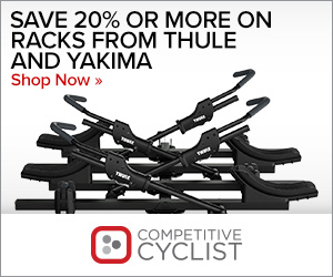 Save 20%+ on Thule & Yakima Racks at Competitive Cyclist