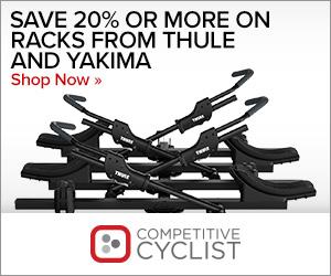 Save 20%+ on Thule & Yakima Racks at Competitive Cyclist