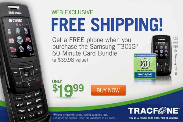 Tracfone Review link to Tracfone.com