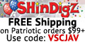Shindigz - FREE Shipping on Patriotic orders $85+.