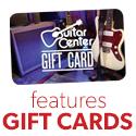 Gear Cards from GuitarCenter.com