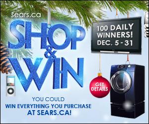 Shop & Win at Sears.ca