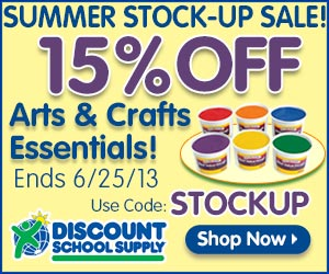 15% Off Teacher's Favorite School Supplies