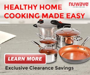 Family-Sized 7-Piece Duralon� Healthy Ceramic Non-Stick Cookware Set + Pressure Cooker Exclusive Clearance Savings