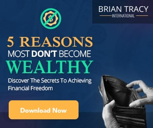 300x250 The 5 Reasons Why Most Don't Become Wealthy
