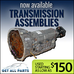 Used Transmission Assemblies Now Available at Get All Parts
