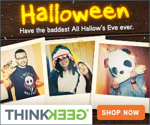 ThinkGeek - Halloween Center!