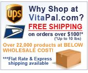 Free Shipping on Orders over $100 at VitaPal.com