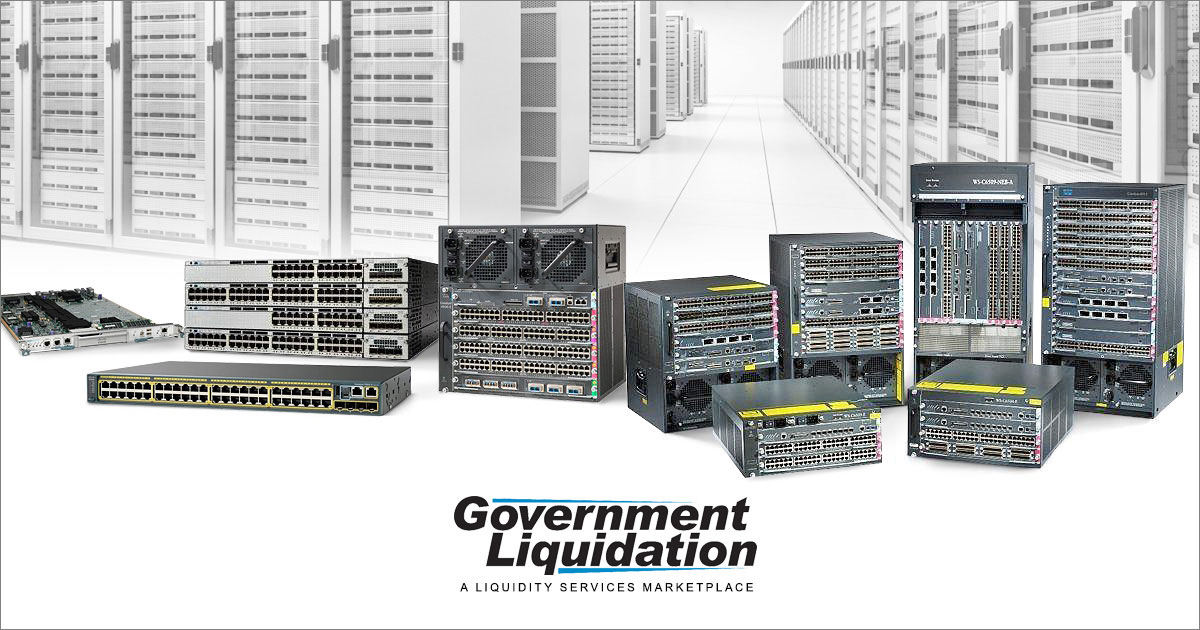 Cisco Refurbished Networking Equipment from Government Liquidation