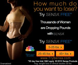 Average Weight-Loss of 30 lbs! Try SENSA� Free!