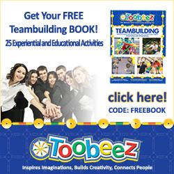 Toobeez - 250x250 - Team Building Activity Book