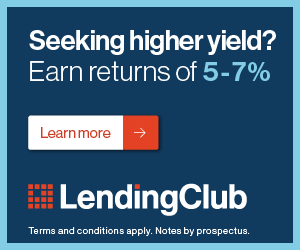 investing 10000 into Lending Club