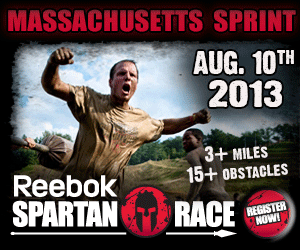 New England Spartan Sprint, August 10 & 11, 2013, Sign Up Now for this Reebok Spartan Race!