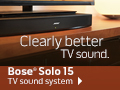 NEW - Free Shipping on Bose® Solo 15 TV sound system