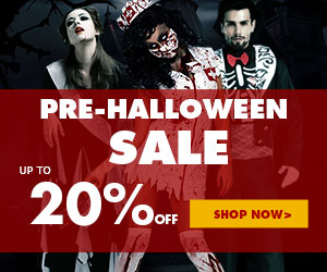 Newest Halloween Costumes 50% Off