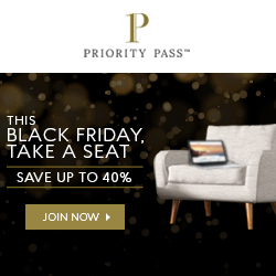 40% off on all Priority Pass annual memberships!