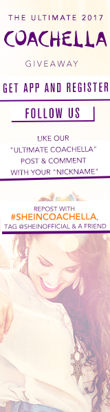 SheIn is sending 2 lucky Persons to Coachella - including airfare and hotel! The winner will also re