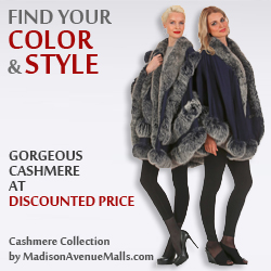 Womens Cashmere Capes Jackets and Coats