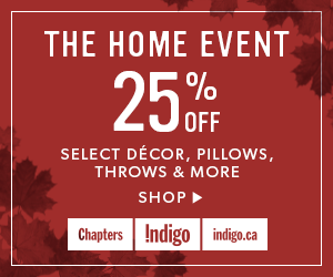 The Home Event - 25% off select items (ends Sept 26)