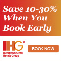 Book Early and Save 10 to 30% on Your Next Stay!