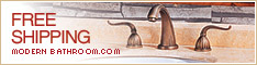 Free Shipping on Faucets at ModernBathroom.com