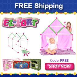 EZ-Fort - 250x205 - Fairy Tale Castle Free Shippin