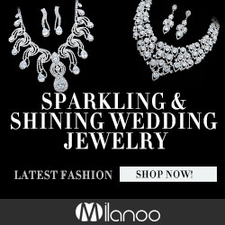 Perfect your wedding dressing up with Milanoo sparkling & shining wedding jewelry means you'll be the most beautiful in  your wedding!