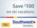 $100 off Flight, Hotel & Lift Ticket Vacation Package