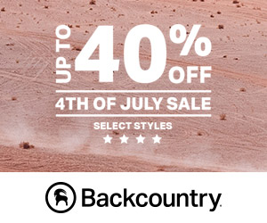 End of Summer Sale at Backcountry