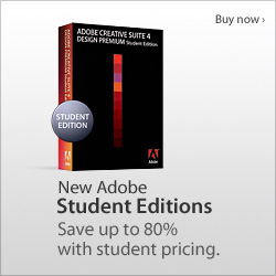 Adobe CS4 Design Premium - Student Edition