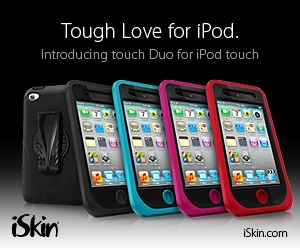 iSkin touch Duo for iPod touch 4G