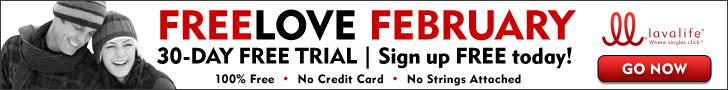 Lavalife: Free Love February