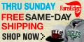 Free Same Day Shipping - This Weekend Only!