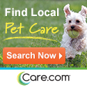 Find care for your pets at Care.com!