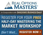Real Options Masters - Free Live Workshop - Register Now!