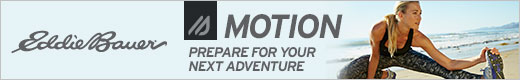 Introducing Eddie Bauer Motion - Prepare For Your Next Adventure. Click Here to Shop Now and Support The Garden Oracle with Your Purchases!