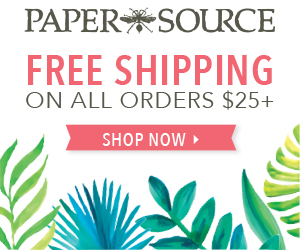 Free Shipping at Paper Source