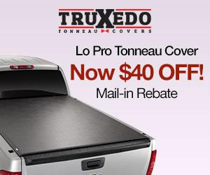Save $40 on a Truxedo Lo Pro Tonneau Cover