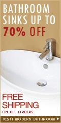 Bathroom sinks up to 70% off at ModernBathroom.com